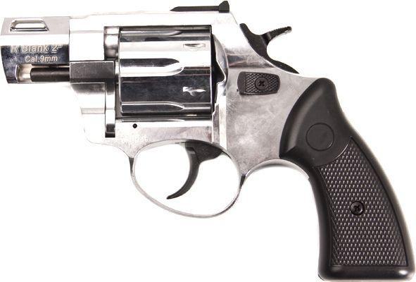 """Plynový revolver ZORAKI R2 2"""" - chróm"""