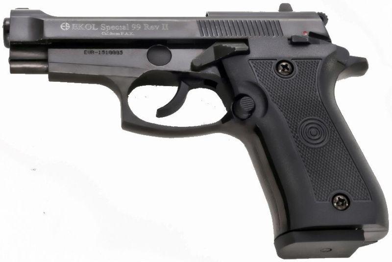 EKOL Plynová pištoľ Special 99 II, 14r. - black