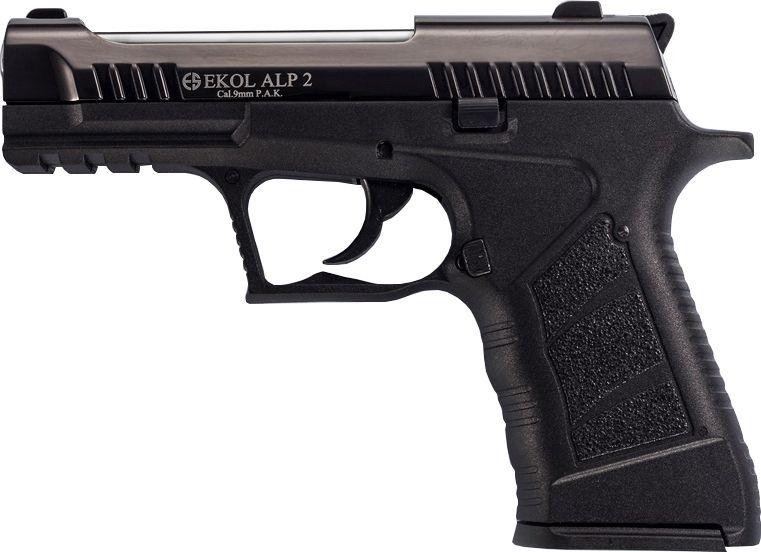EKOL Plynová pištoľ Alp 2 Black - black