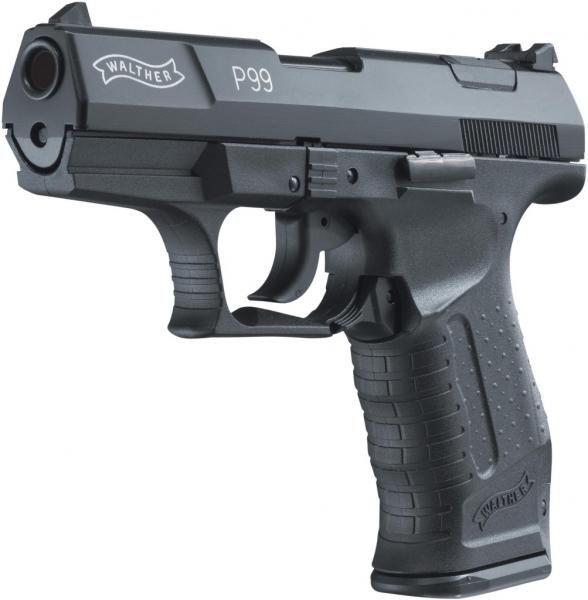 UMAREX Plynová pištoľ Walther P99, kal. 9mm - čierna (312.02.00)