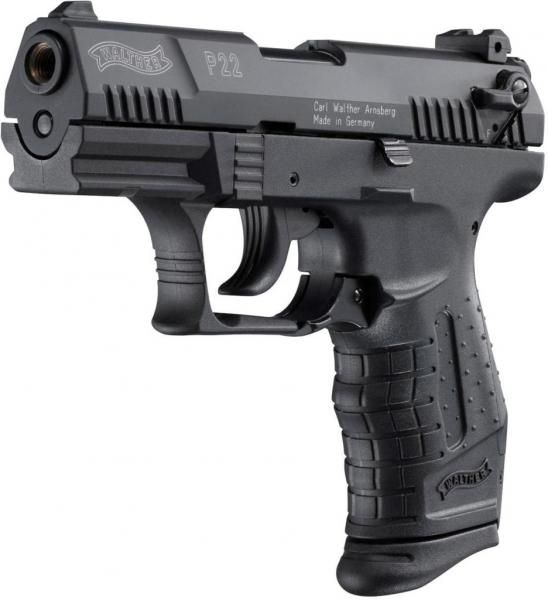 Plynová pištoľ Walther P22 kal. 9mm PAK