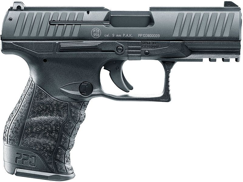 UMAREX Plynová pištoľ Walther PPQ MK2 , kal. 9mm  PAK - čierna (310.02.00)