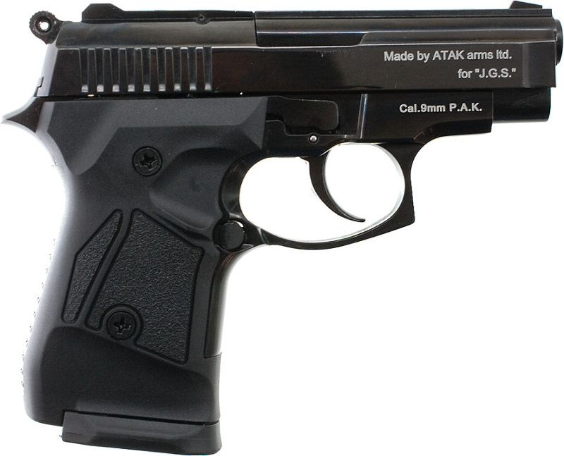 ZORAKI Plynová pištoľ ZORAKI 914 - čierna
