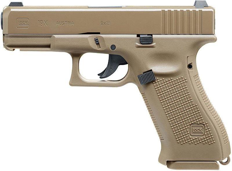 UMAREX Vzduchová pištoľ CO2 GLOCK 19X, kal. 4,5mm BB (5.8368)