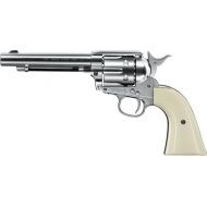 CO2 vzduchovka Revolver Colt SAA .45 nickel, kal. 4,5mm BB