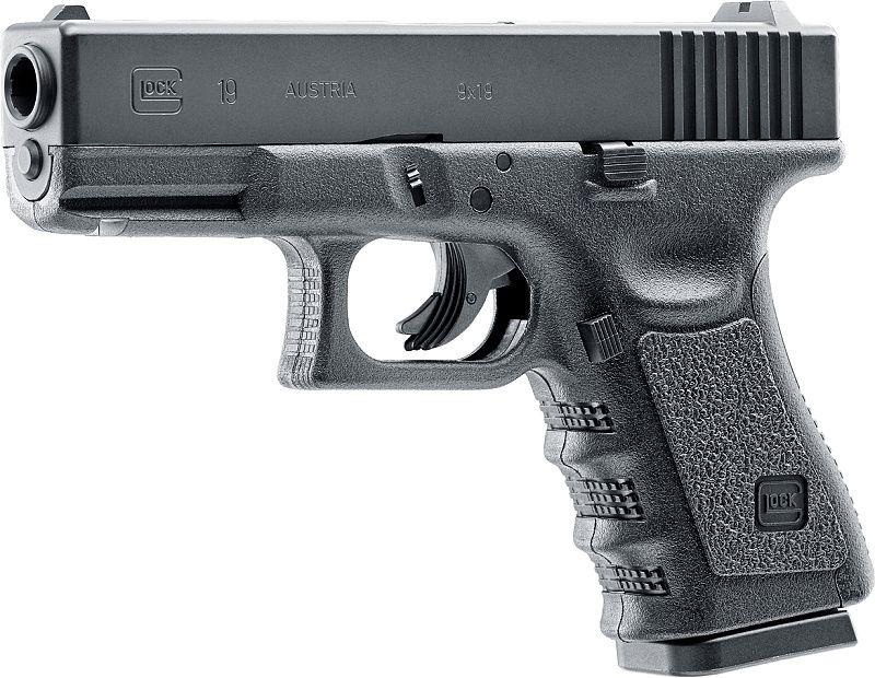 UMAREX Vzduchová pištoľ CO2 Glock 19, kal. 4,5mm BB (2358858)