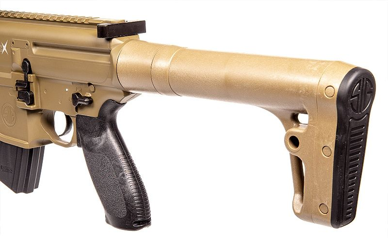 SIG SAUER Vzduchovka CO2 MCX s puškohladom, kal. 4,5mm diab. - fde (SIG016)