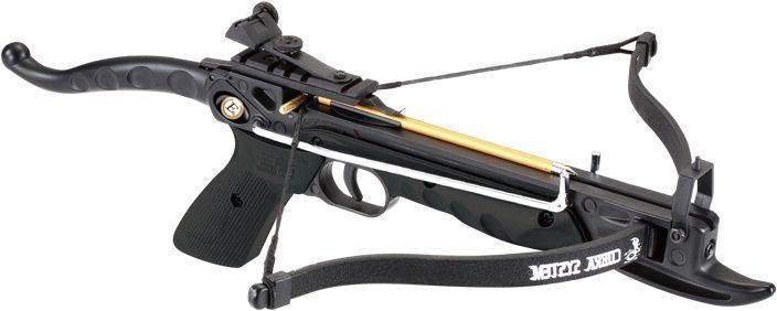 EK ARCHERY Kuša reflexná Cobra Pistol AL 80 lbs - čierna, (CR-039BK)