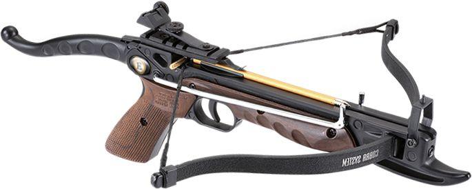 EK ARCHERY Kuša reflexná Cobra Pistol AL 80 lbs - wood camo, (CR-039W4)