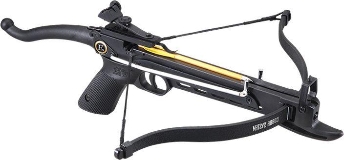 EK ARCHERY Kuša reflexná Cobra Pistol PLA 80 lbs - čierna, (CR-002BA)