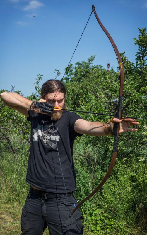 EK ARCHERY Luk reflexný Robin Hood 30-35 lbs - woodland, (RE-018W)