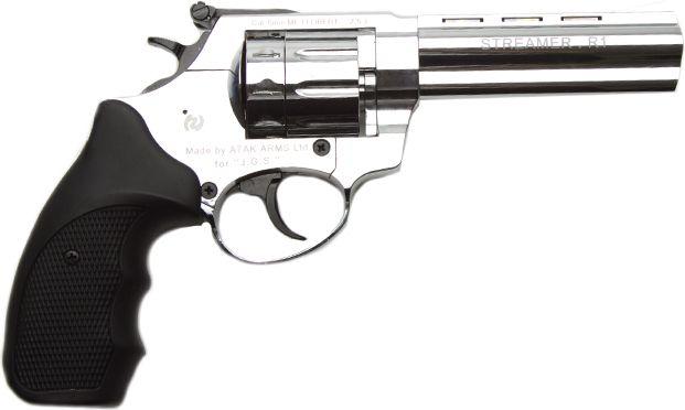"Flobertka Zoraki Streamer 4,5"" lesklý chróm, kal.6mm"