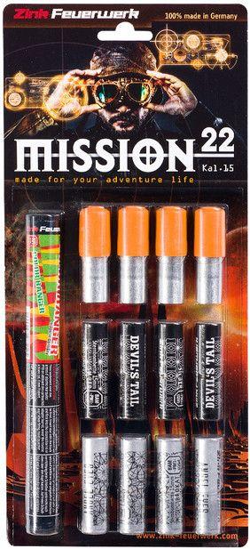 Svetlice Zink signálne Mission set 22 ks