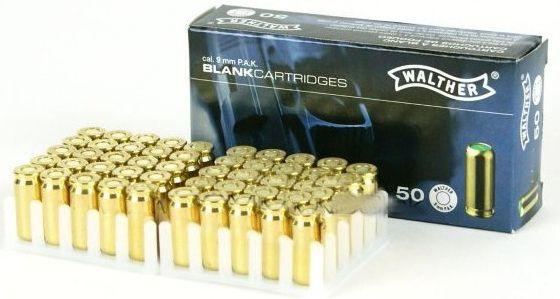 Náboj 9mm štartovací 50ks balenie