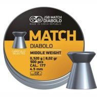 Diabolo Match Rifle 4,5mm 500ks