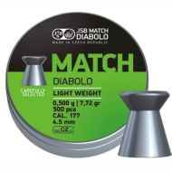 Diabolo Match Pistol 4,5mm 500ks