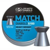 Diabolo Match S100 4,5mm 500ks