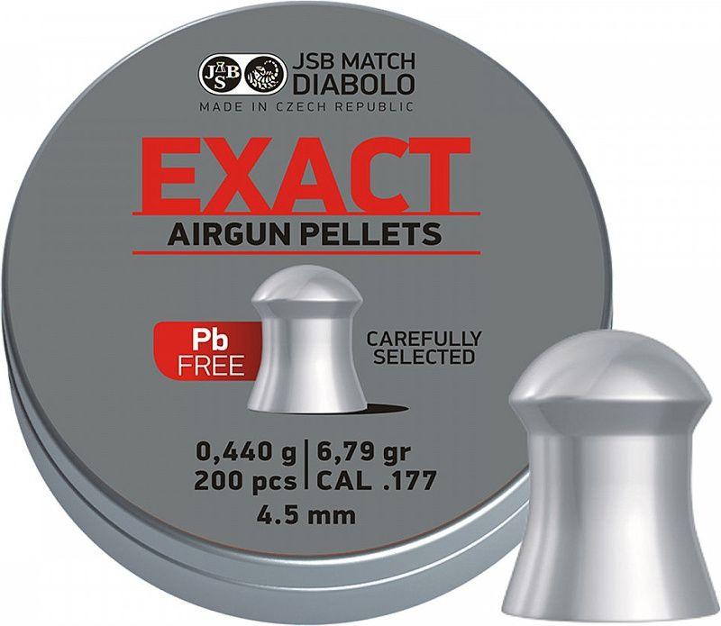 Naboj 4,5mm vzduchovka, JSB Exact Lead Free 200ks