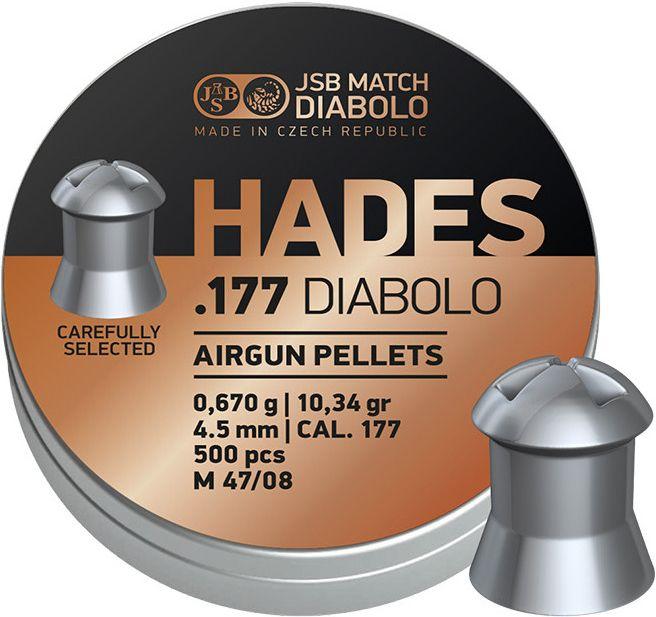 Naboj 4,5mm vzduchovka, JSB Hades 500ks