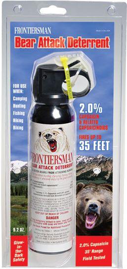 Obranný sprej OC SABRE RED  FRONTIERSMAN Bear Attack 272ml/260g