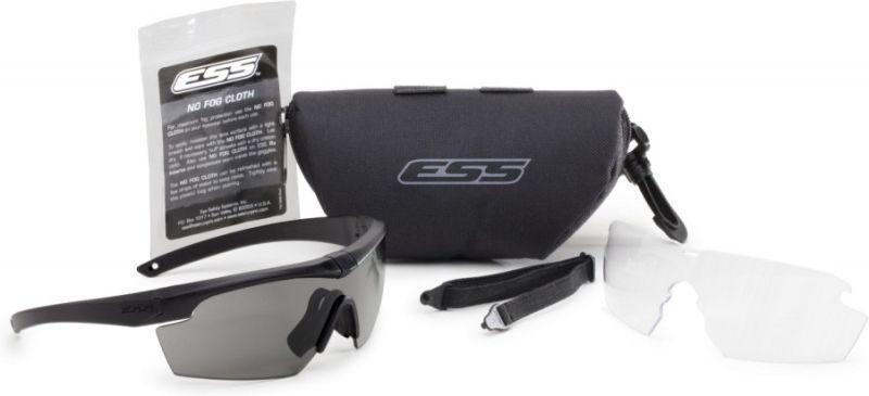 ESS Ochranné okuliare Crosshair 2LS - číre, dymové sklo, (EE9014-04)