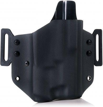 FALCO Opaskové puzdro kydex OWB typ C905 pre Glock 17 so svetlom, pravák, čierne