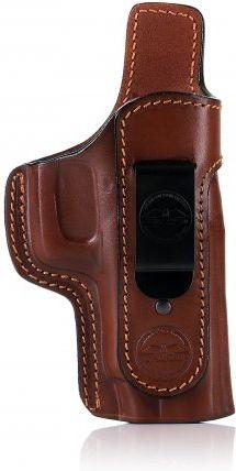 FALCO Opaskové puzdro kožené IWB typ A205 pre Glock 19, pravák, hnedé