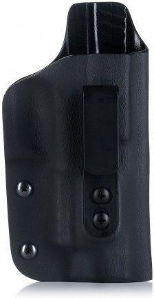 FALCO Opaskové puzdro IWB typ A902 Kydex pre G17, štandard mieridla, ľavák, čierne