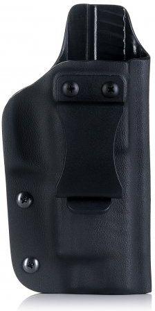 FALCO Opaskové puzdro IWB typ A903 Kydex pre G19, štandard mieridla, ľavák, čierne