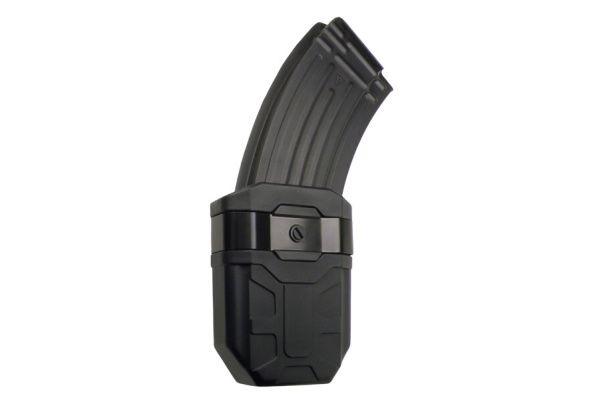 ESP Rotačné plastové puzdro pre zásobník AK-47, MH-04-AK, čierne