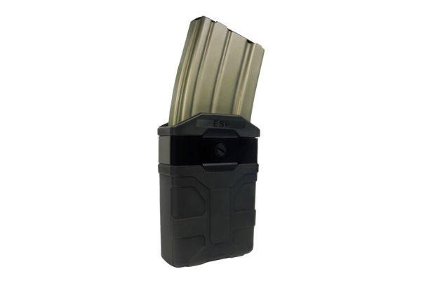 ESP Rotačné plastové puzdro pre zásobník M4, MH-04-M4, čierne