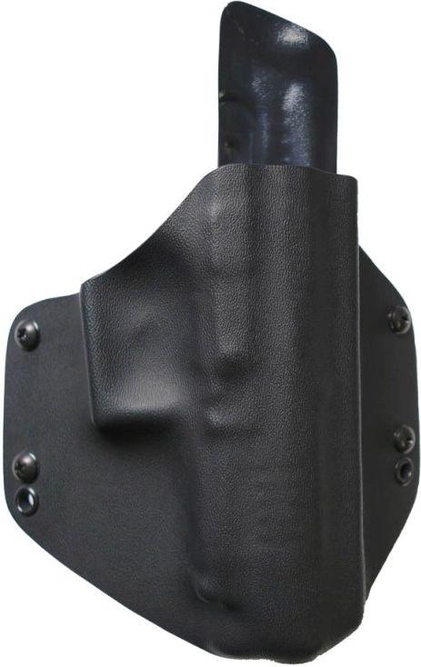 FALCO Opaskové puzdro kydexové typ 6301 s prevlečkami Glock17 - grey digital