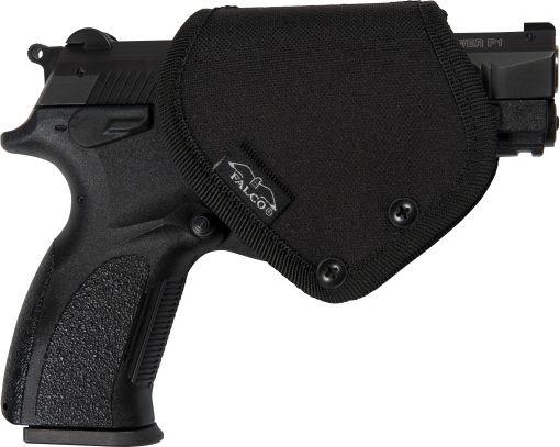 FALCO Plastové opaskové púzdro s lúčkovou poistkou na Glock 17, (651/P)