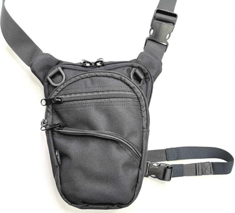 FALCO Taška na plece pre skryté nosenie zbrane typ G110 - čierna