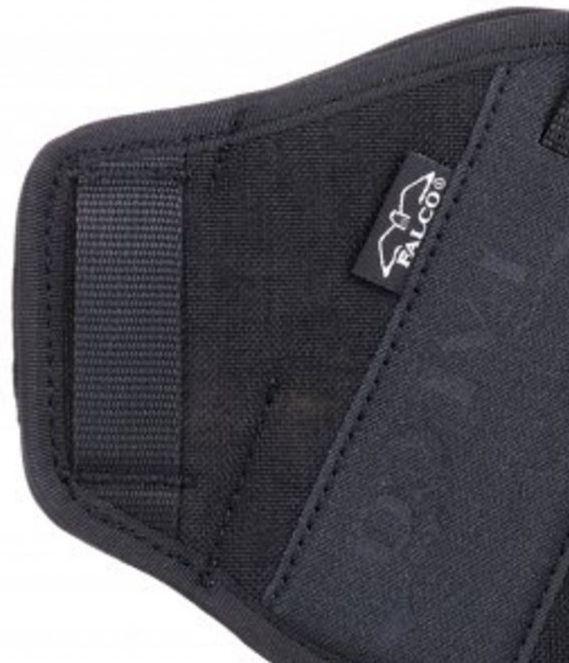 FALCO Opaskové puzdro nylonové OWB typ C702 DUNCAN pre Glock 17, pravák, čierne