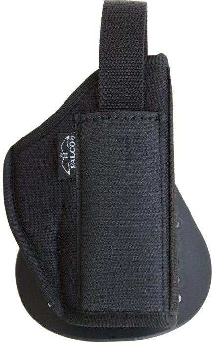 FALCO Opaskové puzdro nylonové s pádlom typ C714 pre Sig Sauer 226, pravák, čierne