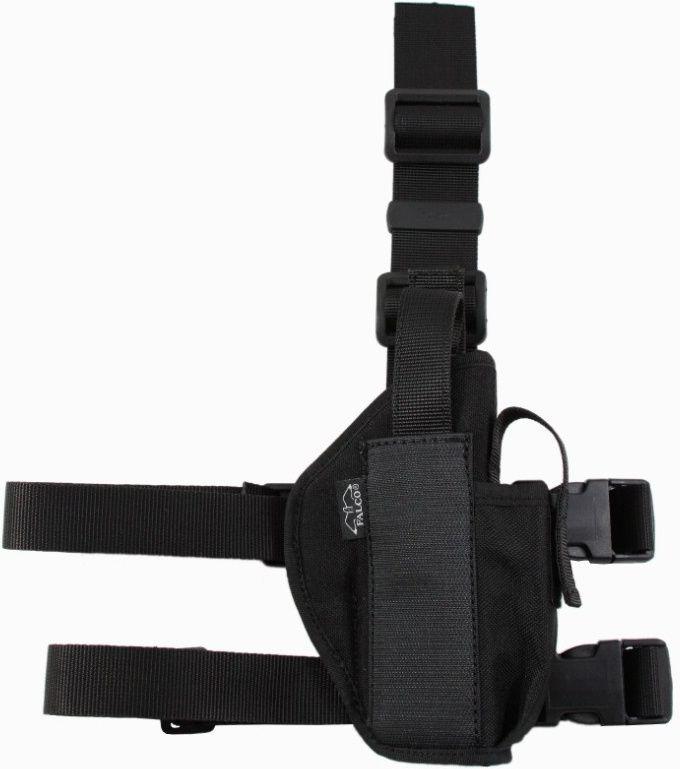 FALCO Taktické stehenné puzdro s držiakom na zásobník typ 540 Beretta 92