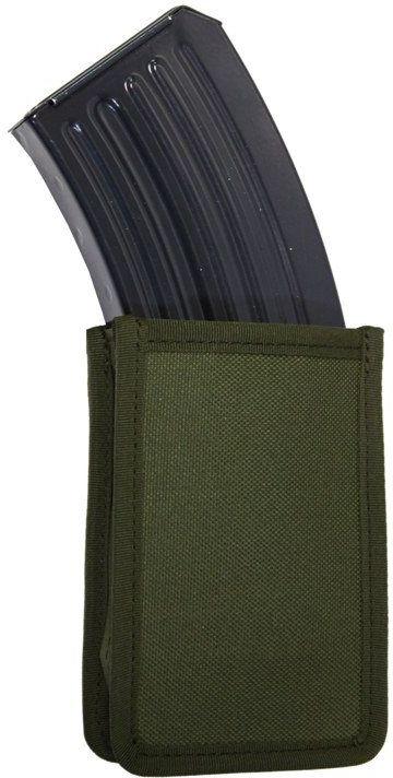 FALCO Púzdro na zásobník SA58 s vnútornými svorkami, MOLLE - čierne, (51032/1)