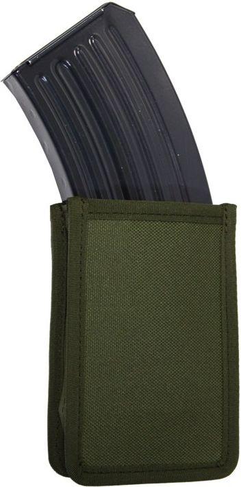 FALCO Púzdro na zásobník SA58 s vnútornými svorkami, MOLLE - zelené, (51032/1)