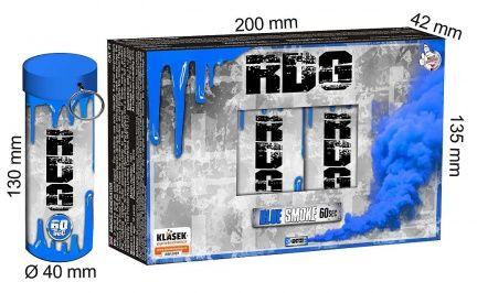 KLASEK Dymovnica RDG60 s trhacou poistkou -  modrá (RDG60M (SP9020B))