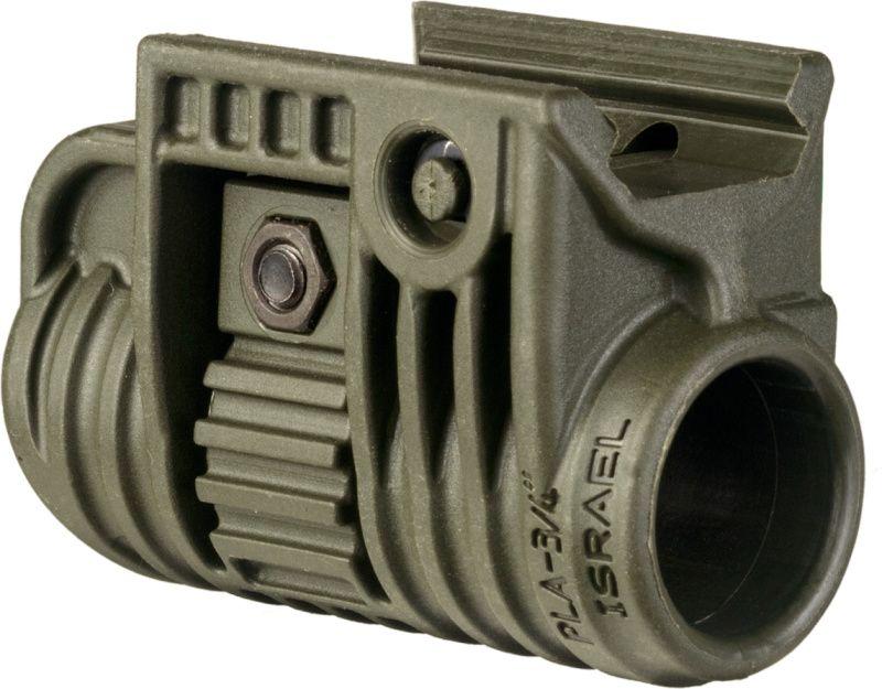 """FAB Defense Držiak na svetlo alebo laser 1"""" (PLA) - olivový"""