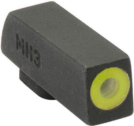 MEPROLIGHT Mieridla Self-Illuminated Night Sights pre Glock9mm/.357SIG/.45GAP/.40S&W, štandard, žltá