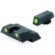 MEPROLIGHT Mieridla Self-Illuminated Night Sights pre Glock9mm/.357SIG/.45GAP/.40S&W, vysoké, zelená