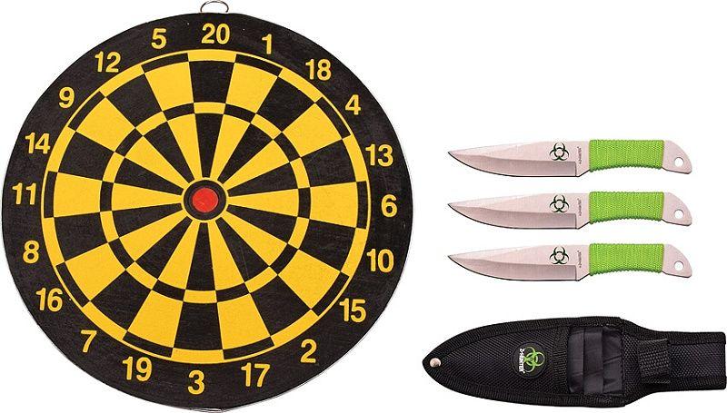 Z-HUNTER Vrhací nôž Throwing Knife Set sada 3ks (ZB154SET)
