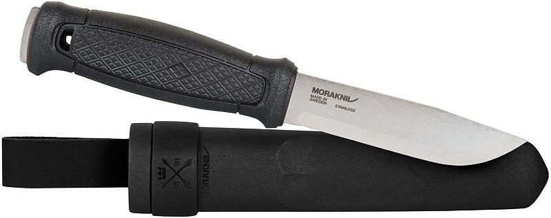 MORAKNIV Nôž s pevnou čepeľou Garberg S - Stainless Steel - čierny (NZ-GBR-SS-01)