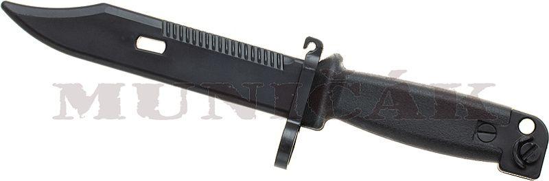 PIRATE ARMS Tréningový nôž AK74 Bayonet - čierny (30601)