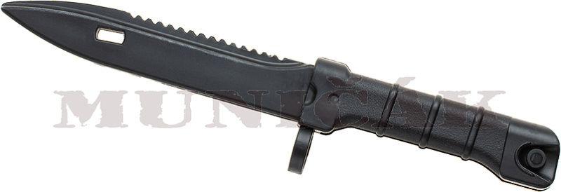 PIRATE ARMS Tréningový nôž AKM Bayonet - čierny (30602)