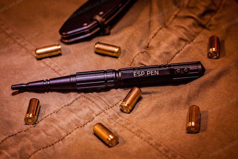 ESP Taktické pero KBT-02, čierne