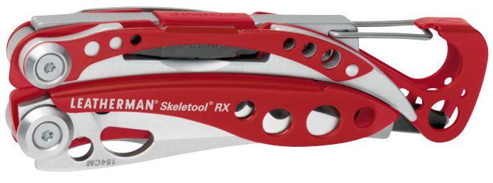 LEATHERMAN Multitool SKELETOOL RX - červený (LTG 832310)