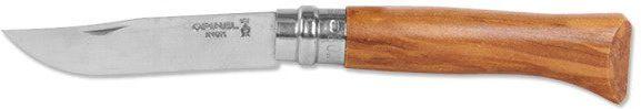Nôž Opinel N°8 VRI, Inox/olivové drevo